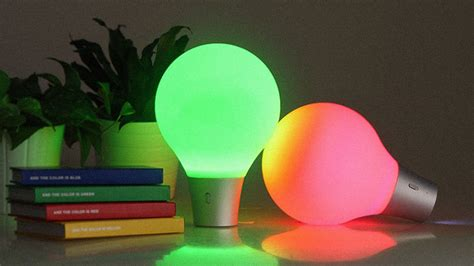color up a squeezable light bulb that slurps up color co design