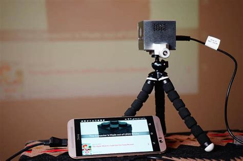 Proyektor Rif6 Cube rif6 cube mobile projector review