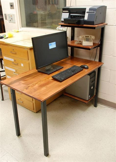 Handmade Computer Desk - handmade computer desk by discriminating designs