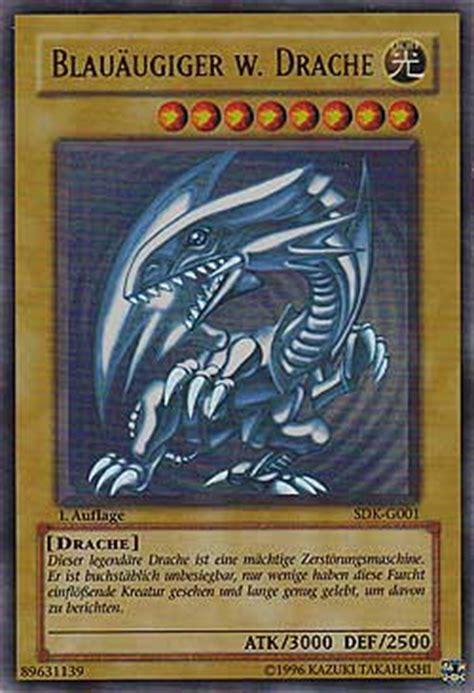 yu gi oh drachen deck blau 228 ugiger w drache kaiba starter decks einzelkarten yu