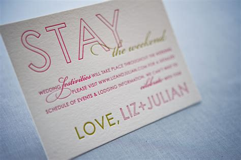 exle of destination wedding save the date liz julian s colorful destination wedding save the dates