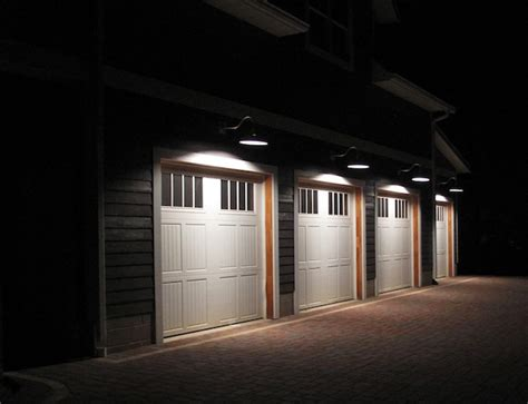 Garage Door Light by Garage Lighting That Leaves A Lasting Impression Barnlightelectric