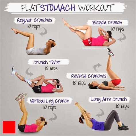 get fit with julie flat stomach workout