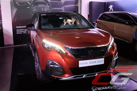 peugeot all models peugeot philippines launches all suv offensive introduces