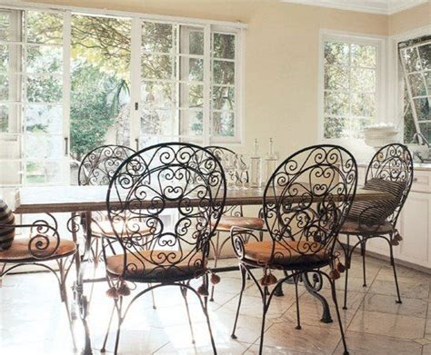 wrought iron dining room sets wrought iron dining room chairs home office ideas