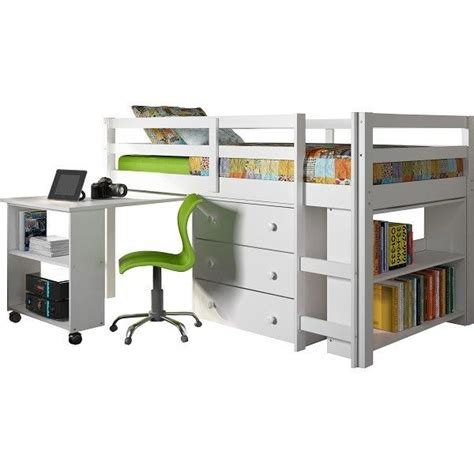 kids loft bed with storage twin loft low bed storage kids wood furniture bunk desk