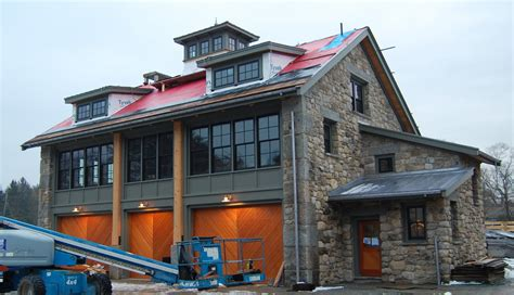 Timber Frame Garage With Living Quarters by Timber Frame Barns Gallery New Energy Works