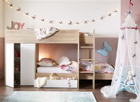 dreams bunk beds finley bunk bed oak and white dreams
