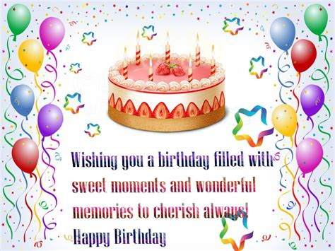 happy birthday wishes quotes hd wallpaper free with cake