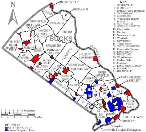 map of bucks county pennsylvania history and books bucks county