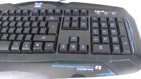 Keyboard E Blue Cobra e blue cobra reinforcement r backlit gaming keyboard overview