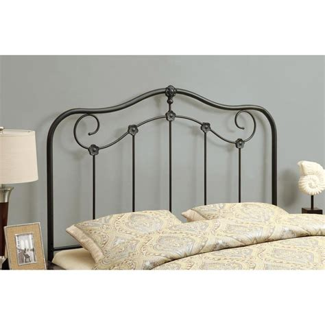 coffee size versatile metal headboard