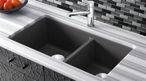 Choosing The Right Sink Material Blanco Kitchen Sink Material Choices