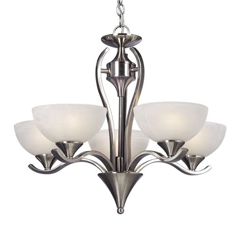 Lighting Fixtures Chandeliers Galaxy Lighting 815785bn 5 Light Metro Chandelier Lowe S Canada
