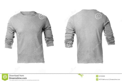 Moc Plain Sleeved Shirt Biru grey sweatshirt template www imgkid the image kid