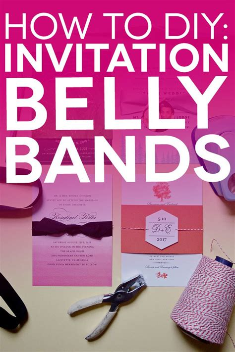 Wedding Paper Divas Belly Bands by Free Printable Belly Bands And Tags For Your Diy