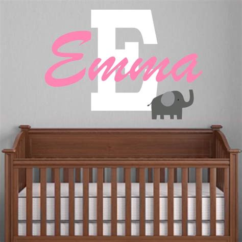 personalized nursery wall decals thenurseries