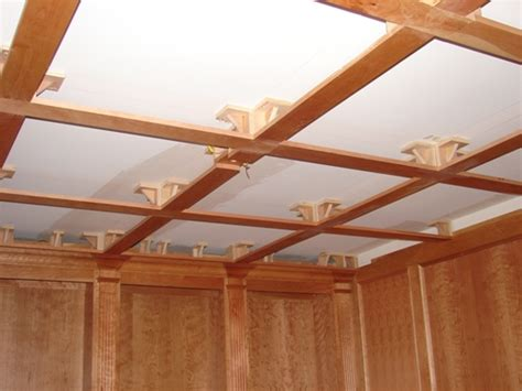How To Build A Coffered Ceiling by How To Build Coffered Ceilingghantapic