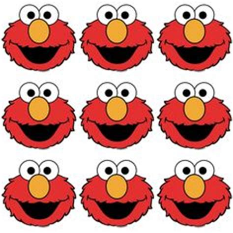elmo face wallpaper free printable elmo face template clipart best