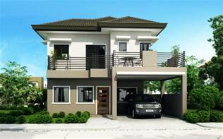house blueprint ideas four bedroom two storey house design home design