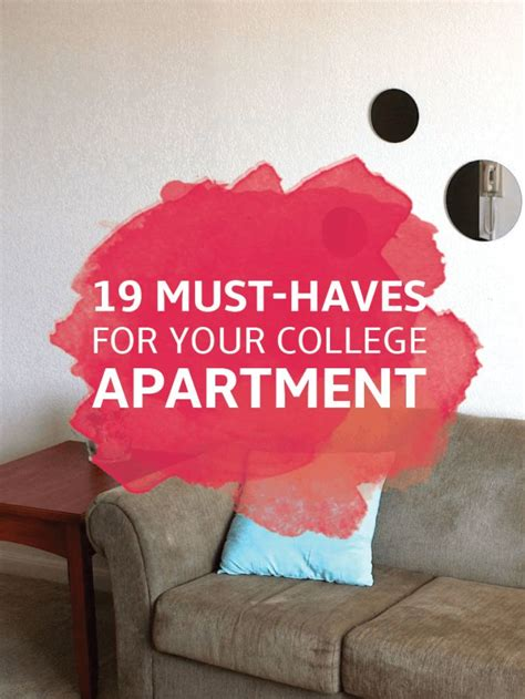 Must Haves For Your Bedroom 17 Best Ideas About College Apartment Bedrooms On