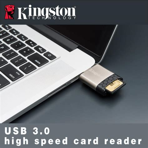 Kingston Usb 30 High Speed Media Reader Fcr Hs4 Murah buy kingston fcr hs4 4 slot usb 3 0 multi card reader at zapals goods catalog