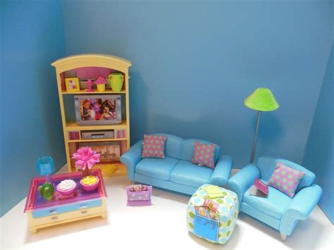 barbie living room furniture set