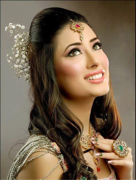 potoes of pakistani simple hair style mehwish hayat bridal makeover photos funchoice org
