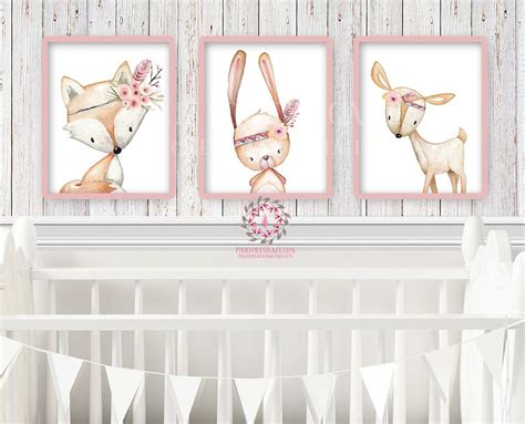 Bunny Meadow Wall Sticker homely design bunny wall nursery stickers vinyl rabbit