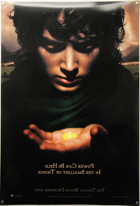 lord   rings trilogy  sheet teaser frodo