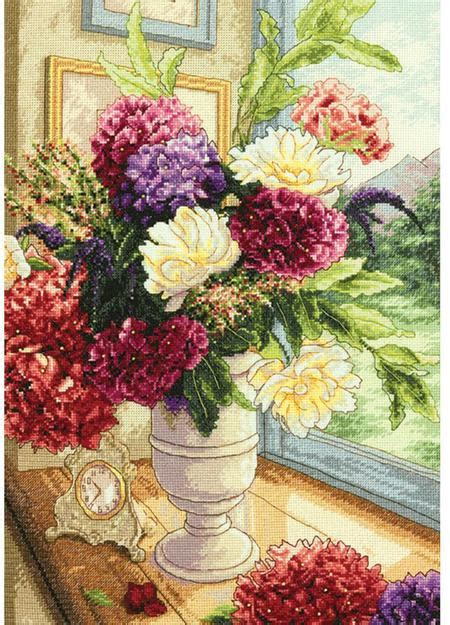 Summer Bouquet by Dimensions Summer Bouquet Gold Collection Cross Stitch