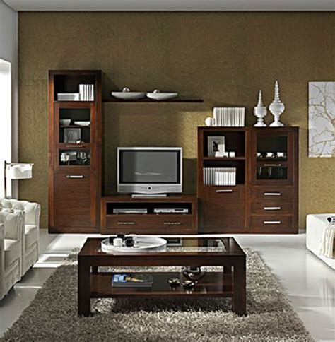 muebles  salon comedor madera nogal en