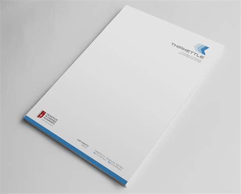 Au Finance Letterhead Professional Serious Letterhead Design For Thirkettle Ltd By Logodentity Design 2082957
