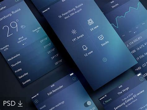 design app free download 29 free photoshop designs for mobile app user interface
