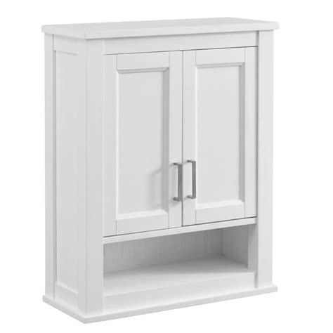 scott living durham            white bathroom wall cabinet  lowescom