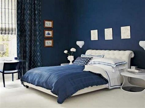 Bedroom Ideas Black And White And Blue Blue And White Modern Bedroom Design With Big Bedroom Size