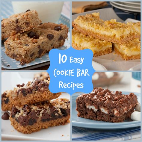 10 easy cookie bar recipes mrfood com