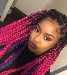 colored cornrows best 25 colored box braids ideas on afro hair