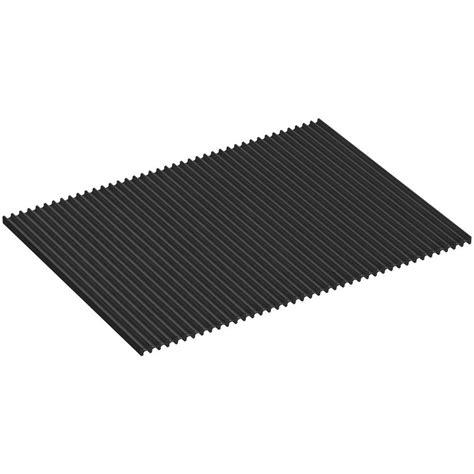 Dish Mat - kohler silicone dish drying mat in charcoal k 5472 chr