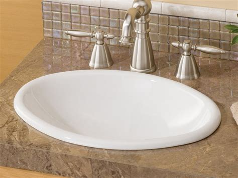 oval bathroom sinks drop in drop in bathroom sinks oval home design ideas
