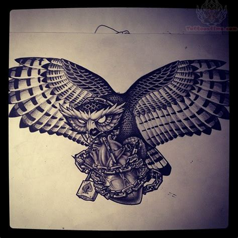 flying owl tattoo designs flying owl drawing