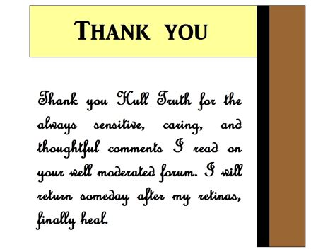 Thank You Note To Thank You Notes