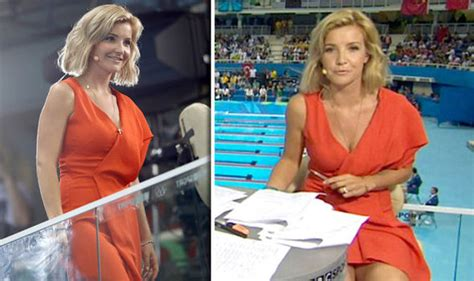 helen skelton rio olympics 2016 host wardrobe malfunction latest uk and world news sport and comment daily express