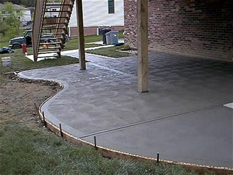 Cement For Patio by 17 Best Images About Concrete Flatwork On