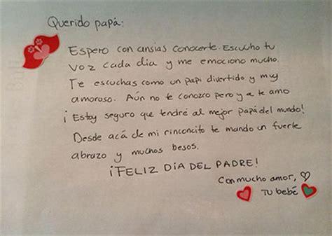 carta para pap antes de nacer regalos perfectos para el d 237 a del padre si est 225 s