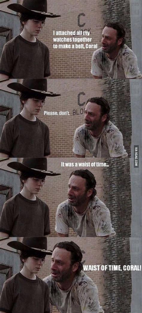 The Walking Dead Memes - 35 of the best walking dead carl meme coral dad jokes