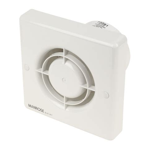 manrose extractor fans for bathrooms new manrose qf100s 5w quiet axial bathroom extractor fan