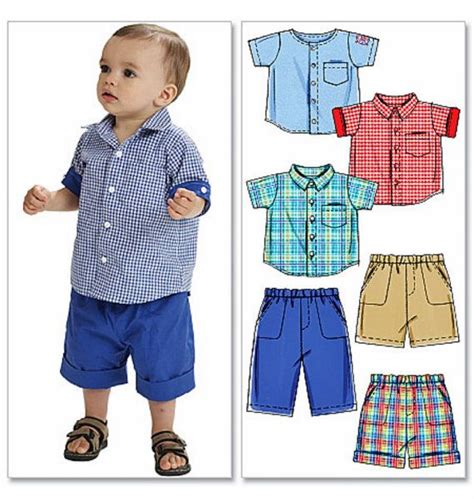 shirt pattern child toddler boy pants and button shirt pattern baby boy