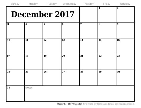 printable monthly calendar for december 2017 december 2017 printable calendar 2018 calendar with holidays