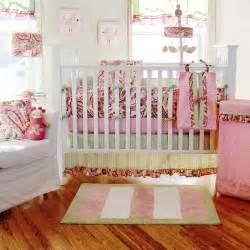 baby sam paisley splash in pink baby bedding 4